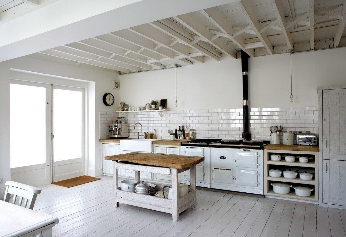 10 pomysłów na białą kuchnię