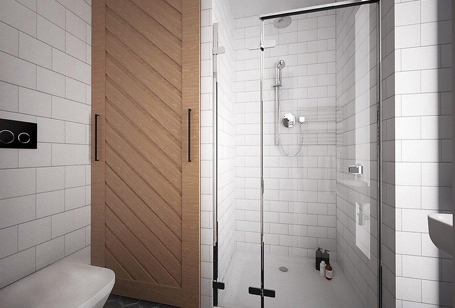 Łazienka nr.1 - cześć prysznicowa